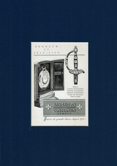 BUY NOW Dazzling DE069 VACHERON CONSTANTIN ポスター/懐中ワールドタイム
