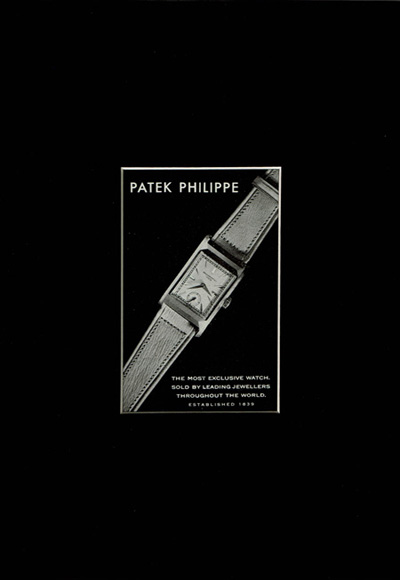 BUY NOW Dazzling DE065 PATEK PHILIPPE ポスター/レクタンギュラー